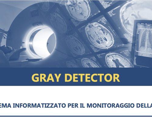 Gray Detector – Software Monitoraggio Dose